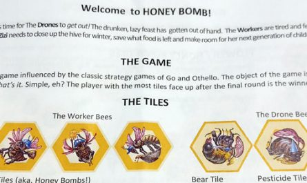 Ramstar games, honey bomb, tabletop games, board games, indie developer, game designer, canadian developer