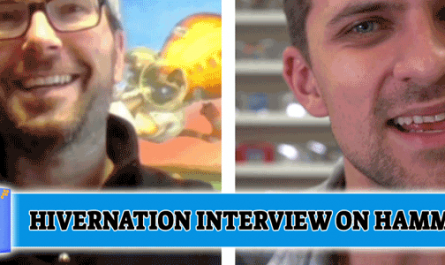 Hivernation interview with Sean Chappell and Stevan Sobot from Hammer D20, Hamilton, Ontario